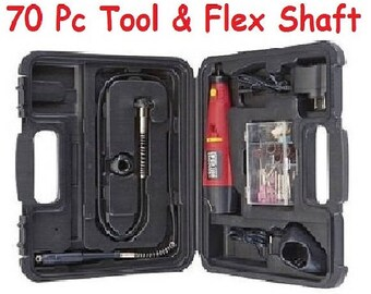 1 Cordless Rotary Tools Set & Accessory Kit Bits Variable Speed for Jewelers Arts and Crafts Polishing Jewelry Grinding Handheld Power Tool