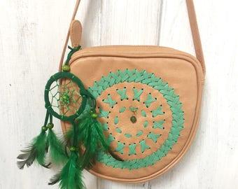 Keanu Bag-Leather-Boho Bag-GypsyBag-