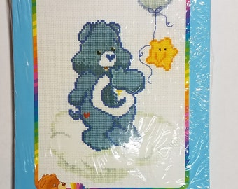Care Bears Bedtime Bear the Dreamer Counted Cross Stitch Kit