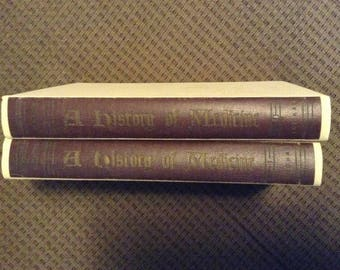A History of Medicine, Volumes 1 and 2, Hardcover, First Edition