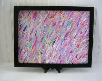 Pastel Colors Canvas Painting/ Abstract Painting/ 12 x 16 Painting/Acrylic Painting/ Home Decor/Wall Art/ Corbett Abstract # 69
