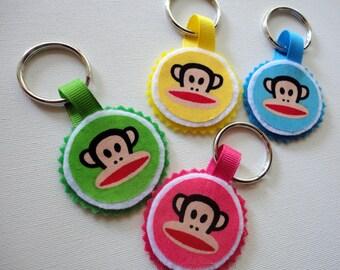 Monkey Bag Tag or Key Ring