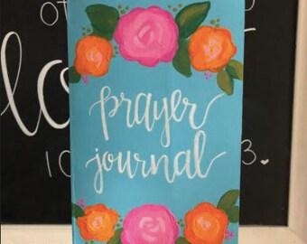 Hand Painted Prayer Journal