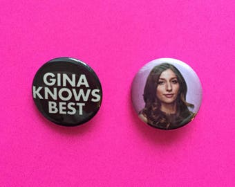 Gina Linetti / Brooklyn Nine-Nine Pinback Buttons