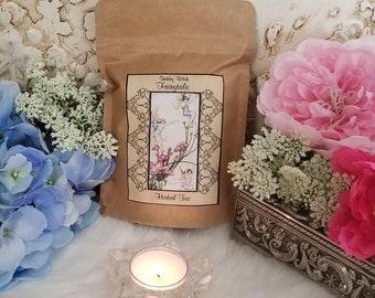 Herbal Tea Blend, Fairytale Tea,  Certified Organic Herbal Tea