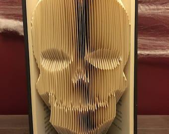 Skull Folded Book