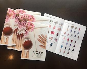 Color Street spring mini catalog