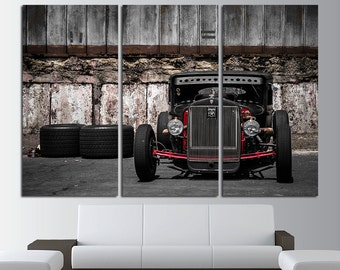 Hot Rod Print Hot Rod Photo Hot Rod Poster Hot Rod Art Hot Rod Wall Art Hot Rod Wall Decor Muscle Car Hot Rod Canvas Top Gear Canvas art
