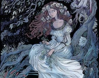 Ophelia Print