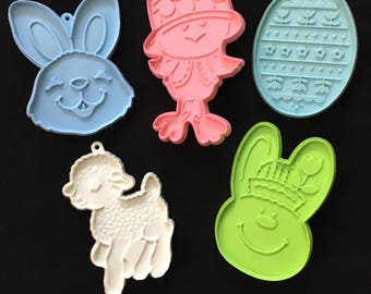 Vintage Hallmark Easter Cookie Cutters