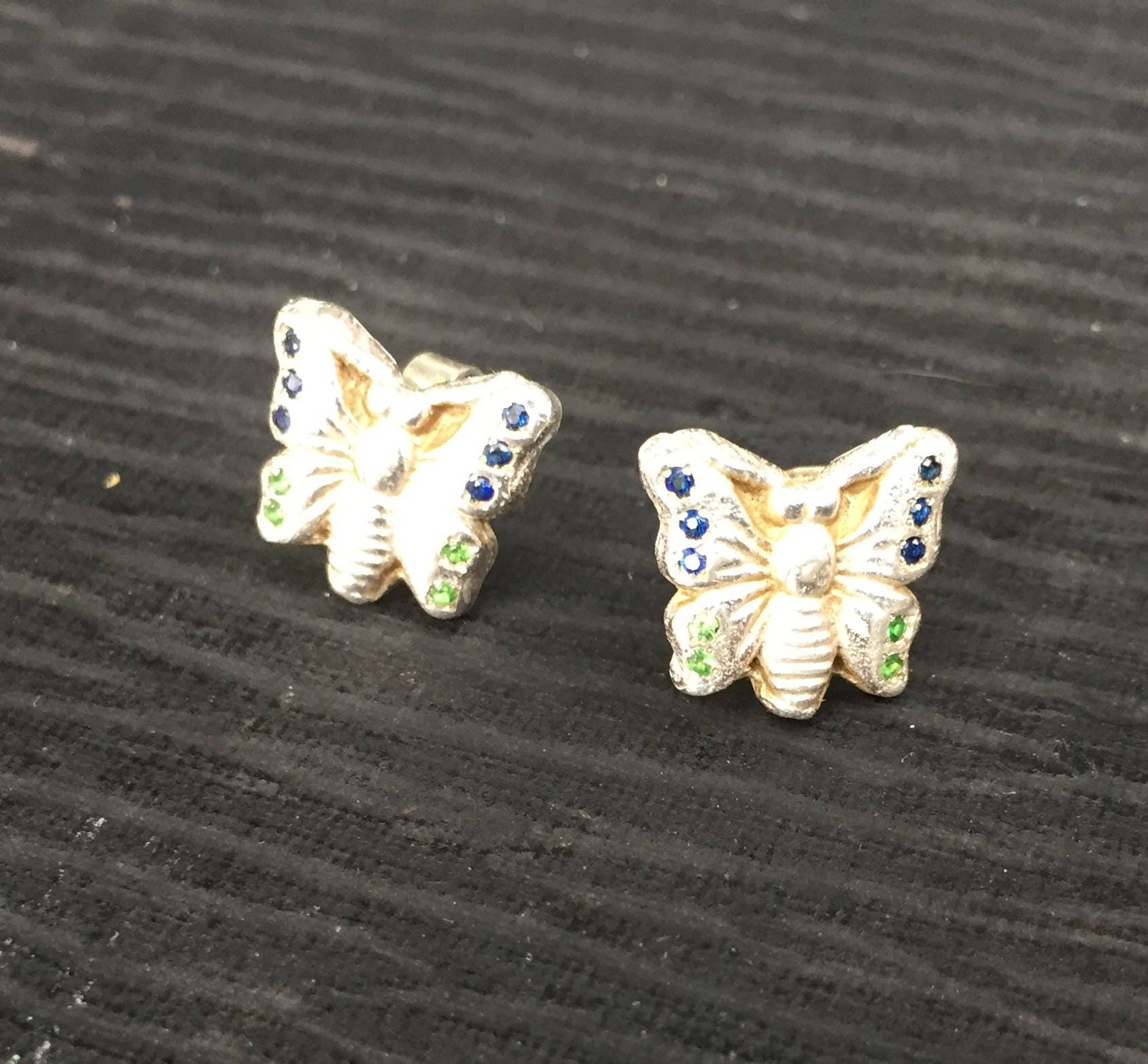 designer white jewelry women gold whiteblack butterfly s stud rose earrings diamond bloomingdale bloomingdales in and black lyst