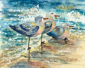 Three Shorebirds