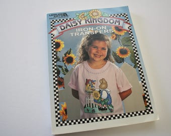 Hot iron Transfer Patterns BOOK DAISY Kingdom Transfers Book 170 PAGES! Hot Iron On Transfers, Leisure Arts 170 pages of transfers - paint