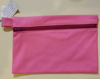 Small Wet Bag Pink