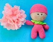 Baby doll,  crochet doll,...