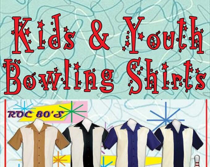 Kids Bowling Shirts - Free Shipping