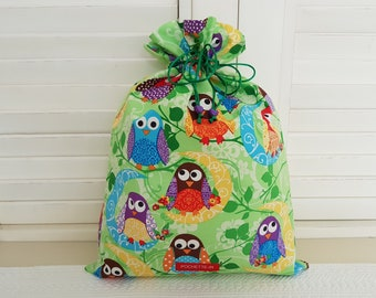 Owls in the Green pouch