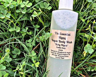 Dirty Hippie Vegan Body Wash ~ Castile Soap Recipe ~