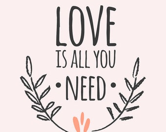 Love is all you need! And a dog