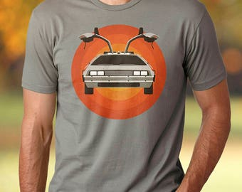 Back To The Future shirt men Back To The Future tshirt Back To The Future t-shirt Back To The Future t shirt DMC Delorean Marty McFly