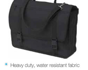 Mapac 'Artist Satchel' - Heavy Duty Satchel Made From Water Resistant Fabric - 410mm x 320mm x 35mm