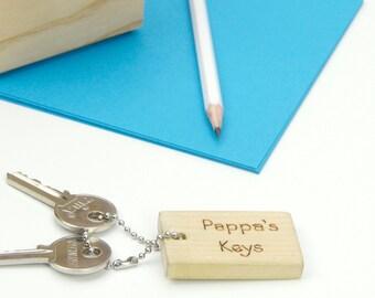 Personalised Natty Keyring