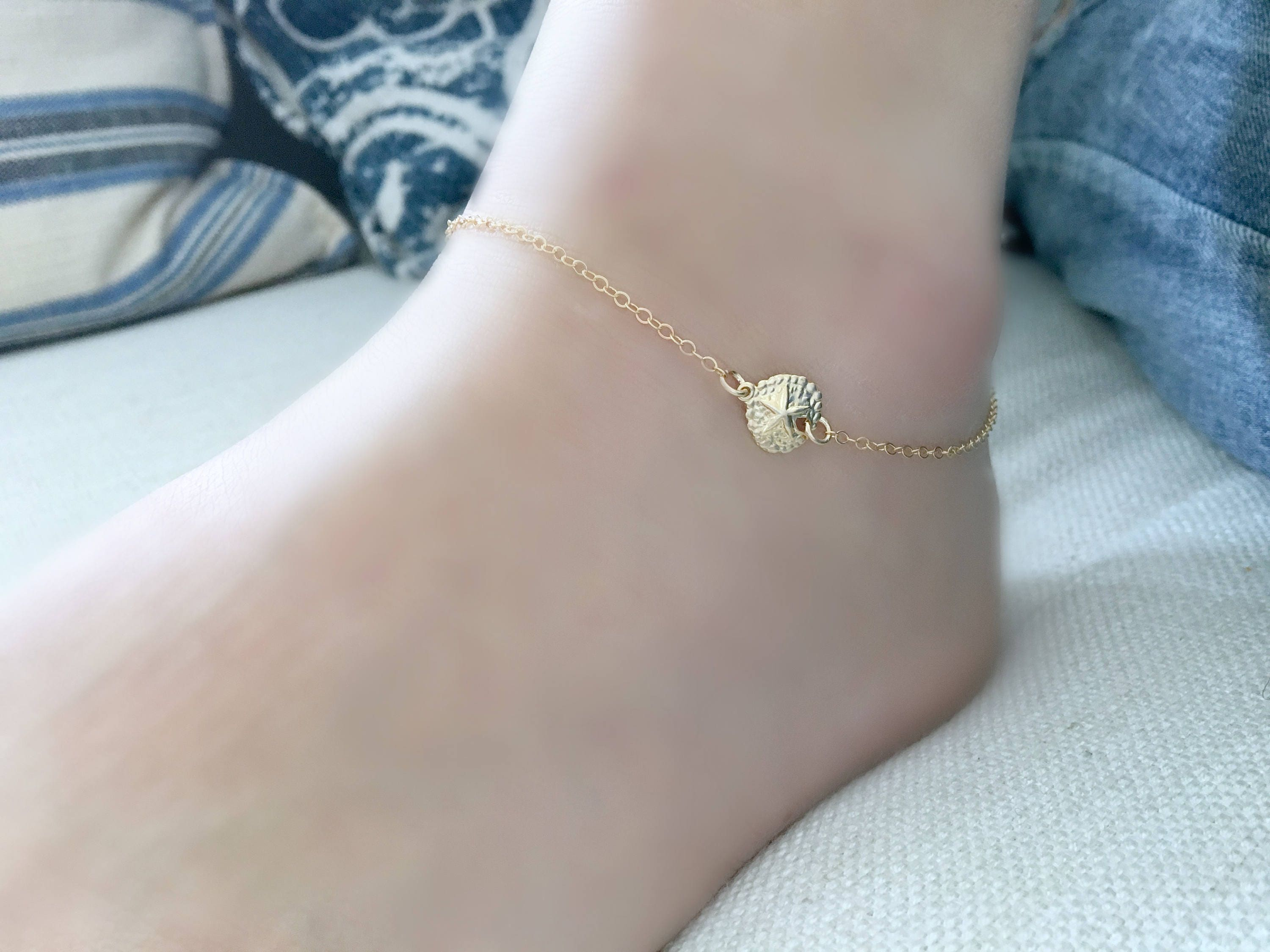 tie tears bracelet teen jewellery listing girl mermaids simple glass il fullxfull woman sea anklet ankle cotton bracelets beach present wish