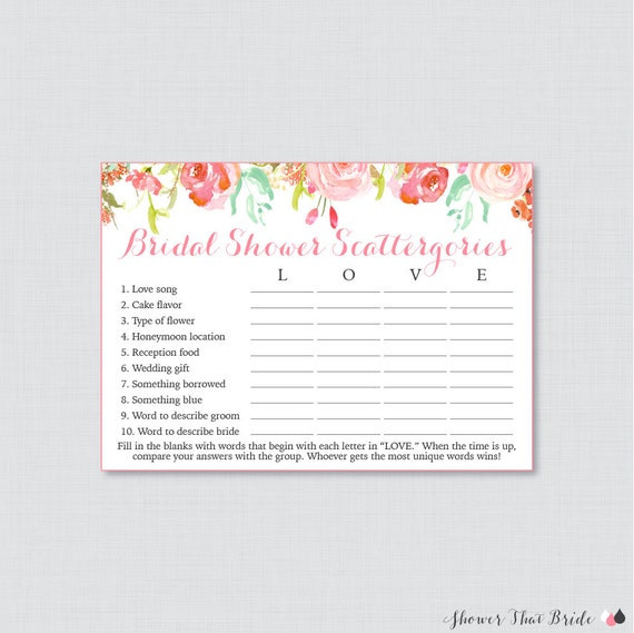 Pink Floral Bridal Shower Scattergories Game Printable Pink. Beach Wedding Dresses On A Budget. Wedding Invitation Wording For Friends In Word Format. Wedding Place Cards Online. Wedding Photographers Harrisburg Pa. Perfect Wedding Anniversary Gift. Wedding Guest Book Picture Frame. Lemon Tree Wedding Invitations. Wedding Food Caterers Kent