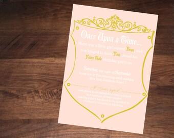 Fairy Tale Birthday Invitation