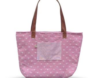 Reversible Shoulder Bag - Pink
