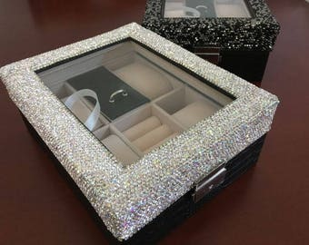 Sparkly watch case