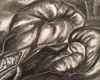 Charcoal Boxing Gloves