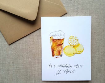 Sweet Tea Greeting Card