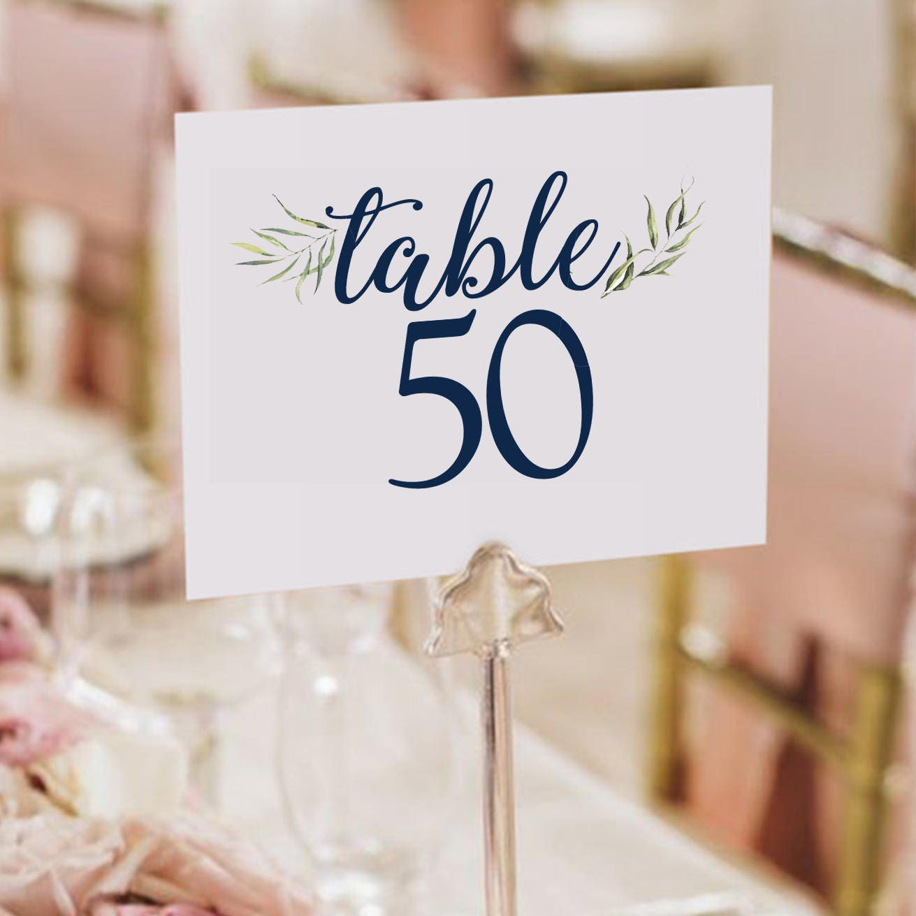 Table Numbers / Wedding / Wedding Decor / Wedding Signs / Sign
