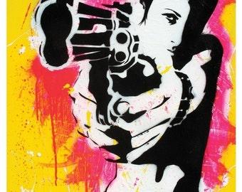 Shooter - Version 1.0 - 12 x 18 High Qualtiy Pop Art Print