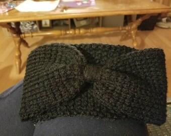 Handmade crochet earwarmer