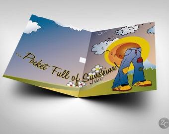 "Easy A - ""Pocketful of Sunshine"" Musical Greeting Card - Emma Stone Movie"