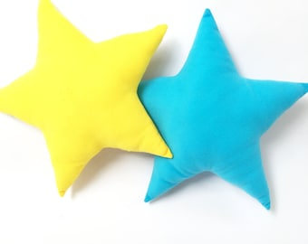 Baby Cushion for nursery - Baby Pillow for nursery - Decorative nursery pillow - Modern nursery pillow - Star pillow for nursery - baby gift