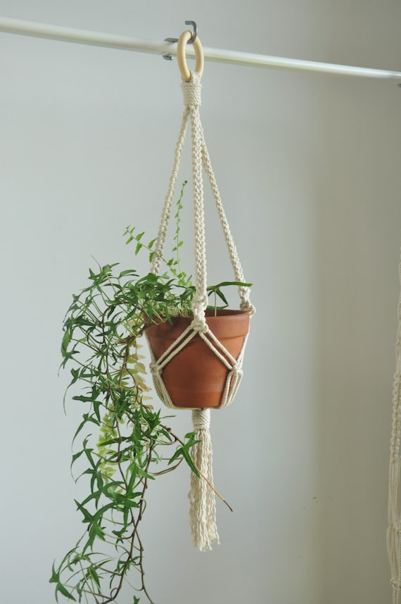 Macrame Plant Hanger Indoor Garden Plant Pot Holder Hanging