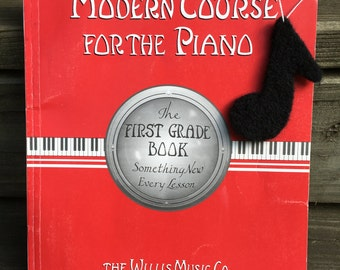 Needle Felted Music Note Ornament, Needle Felted Music Note Decoration, Needle Felted Music Note