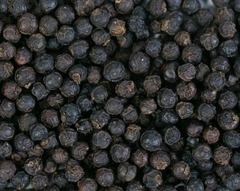 Black pepper 50gr Mananjary Madagascar flavor kitchen food grain