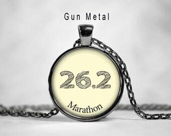 26.2 Marathon charm, marathon charm, 26.2 charm, marathon necklace, 26.2 necklace,26.2, marathon,quote pendant
