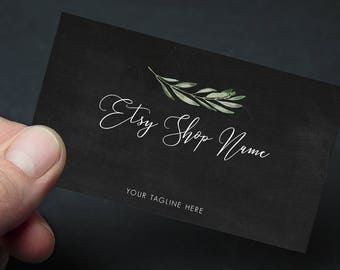 Etsy seller printable business card premade business card etsy seller printable business card premade business card packaging card marketing card etsy business etsy shop small business colourmoves
