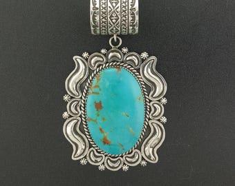 Harold Joe ~ Turquoise Pendant