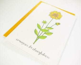 Coreopsis for Cheerfulness