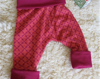 Merino Harem Pants - Size 3 - 6 months