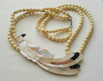 Inlaid Shell Necklace