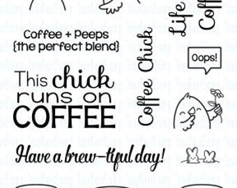 Your Next Stamp-Coffee Chick