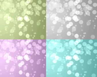 Set of 4 Christmas Bokeh overlays Set of 4 Photo background Grey purple green teal turquoise Digital overlay Bokeh wall art INSTANT DOWNLOAD