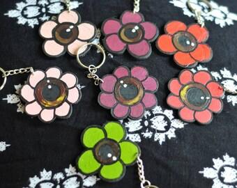 Eyeflower keychain
